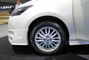 Toyota Vios Exclusive Wheel 33rd Thailand International Motor Expo 2016