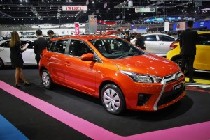 Toyota Yaris 33rd Thailand International Motor Expo 2016