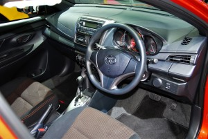 Toyota Yaris Interior 33rd Thailand International Motor Expo 2016