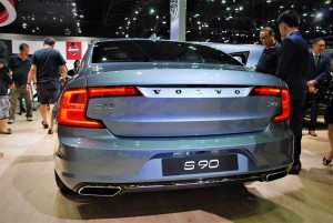 Volvo S90 D4 Rear View 33rd Thailand International Motor Expo 2016