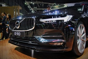 Volvo S90 Front Grille 33rd Thailand International Motor Expo 2016