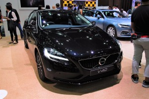 Volvo V40 Front 33rd Thailand International Motor Expo 2016