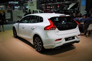 Volvo V40 Rear View 33rd Thailand Internationnal Motor Expo 2016