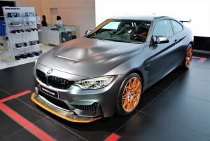 BMW M4 GTS Coupe Front View 2016