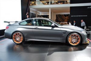 BMW M4 GTS Coupe Side View 33rd Thailand International Motor Expo 2016