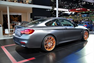 BMW M4 GTS Coupe Rear View Thailand Motor Expo 2016