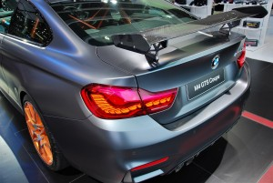 BMW M4 GTS Coupe Rear Spoiler 33rd Thailand International Motor Expo 2016