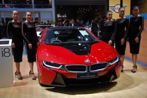 BMW i8 Protonic Red Edition 33rd Thailand International Motor Expo 2016