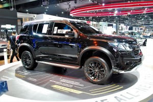 Chevrolet Trailblazer Black 2016 Thailand International Motor Expo