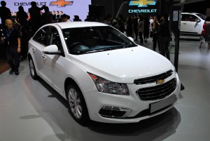 Chevrolet Cruze 33rd Thailand International Motor Expo 2016