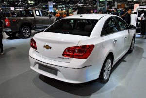 Chevrolet Cruze Rear 33rd Thailand International Motor Expo 2016
