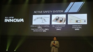 Active Safety Features, 2016 Toyota Innova Malaysia 20161205_125518