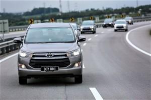 Pre-launch road test, Toyota Innova Malaysia UMW Toyota 20161201_0803