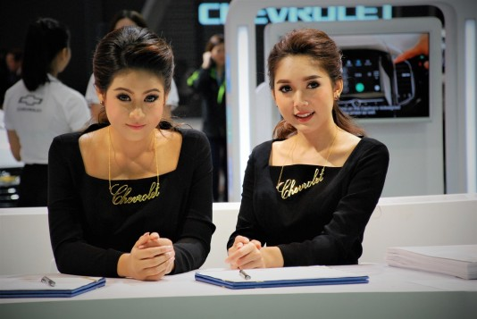 The Models At The 33rd Thailand International Motor Expo