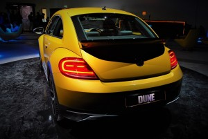 VW Beetle Dune Rear View, Malaysia Launch 2016