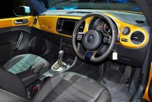 Volkswagen Beetle Dune Interior, Malaysia 2016