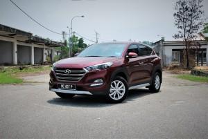 Hyundai Tucson Executive 2.0 Front View, Malaysia 2016
