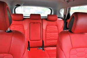 Hyundai Tucson Executive Red Leather Seat Option, Malaysia 2016