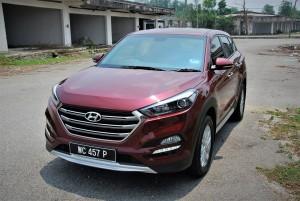 Hyundai Tucson Executive Variant, Front View, Malaysia 2016