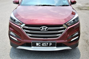 Hyundai Tucson 2.0 Executive Front Section, Malaysia 2016