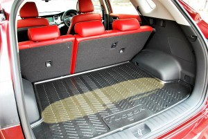 Hyundai Tucson 2.0 Executive Rear Cargo Space, Malaysia 2016