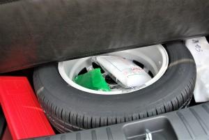 Hyundai Tucson Full Size Spare Tyre, Malaysia 2016