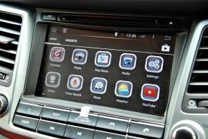 Hyundai Tucson Android Infotainment System, Touchscreen, Malaysia 2016