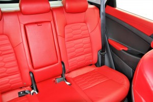 Hyundai Tucson 2.0 Executive Red Leather Rear Seats, Malaysia 2016