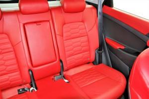 Hyundai Tucson 2.0 Executive Red Leather Rear Seats, Malaysia 2016