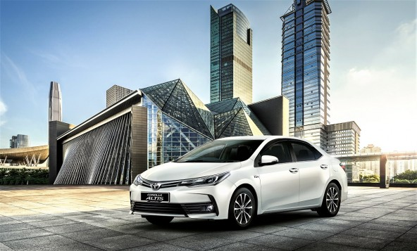 Toyota Corolla Altis Upgraded For 2017