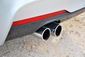 BMW 330i M Sport Chrome Twin Exhaust Malaysia 2016
