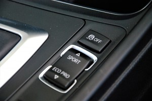 BMW 330i M Sport Drive Mode Buttons Malaysia 2016