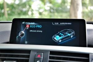 BMW 330i M Sport Eco Pro Display Malaysia 2016
