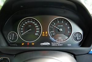 BMW 330i M Sport Instrument Cluster Malaysia 2016