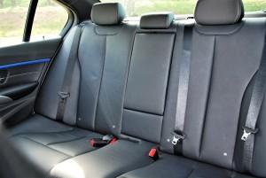 BMW 330i M Sport Rear Seat Malaysia 2016