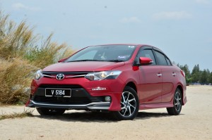 New Vios front has DRL's mounted in bumper.