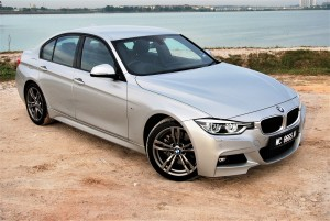 BMW 330i M Sport Front View Malaysia 2016