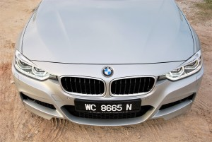 BMW 330i Front Section Malaysia 2016
