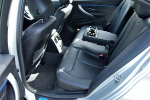 BMW 330i M Sport Rear Seats Malaysia 2016