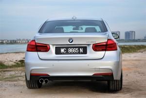 BMW 330i M Sport Rear Malaysia 2016
