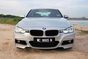 BMW 330i M Sport Face Malaysia 2016