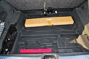 Mercedes-Benz GLC 250 4MATIC Boot Under-floor Storage, Malaysia 2016