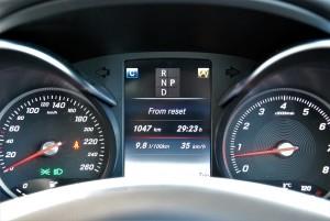 Mercedes-Benz GLC 250 4MATIC Trip Info Malaysia 2016