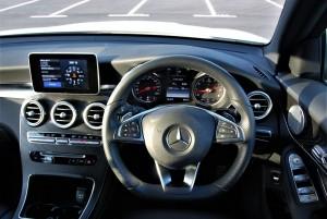 Mercedes-Benz GLC 250 4MATIC Cockpit Malaysia 2016