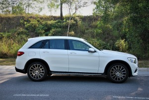 Mercedes-Benz GLC 250 4MATIC AMG Line Side View Malaysia 2016
