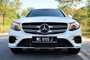 Mercedes-Benz GLC 250 4MATIC Front View Malaysia 2016