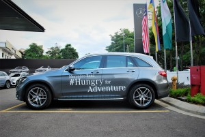 Mercedes-Benz GLC 250 4MATIC Side View Hungry For Adventure Malaysia 2016