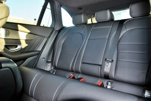 Mercedes-Benz GLC 250 4MATIC AMG Line Rear Seats Malaysia 2016