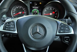 Mercedes-Benz GLC 250 4MATIC AMG Line Steering Mounted Buttons Malaysia 2016
