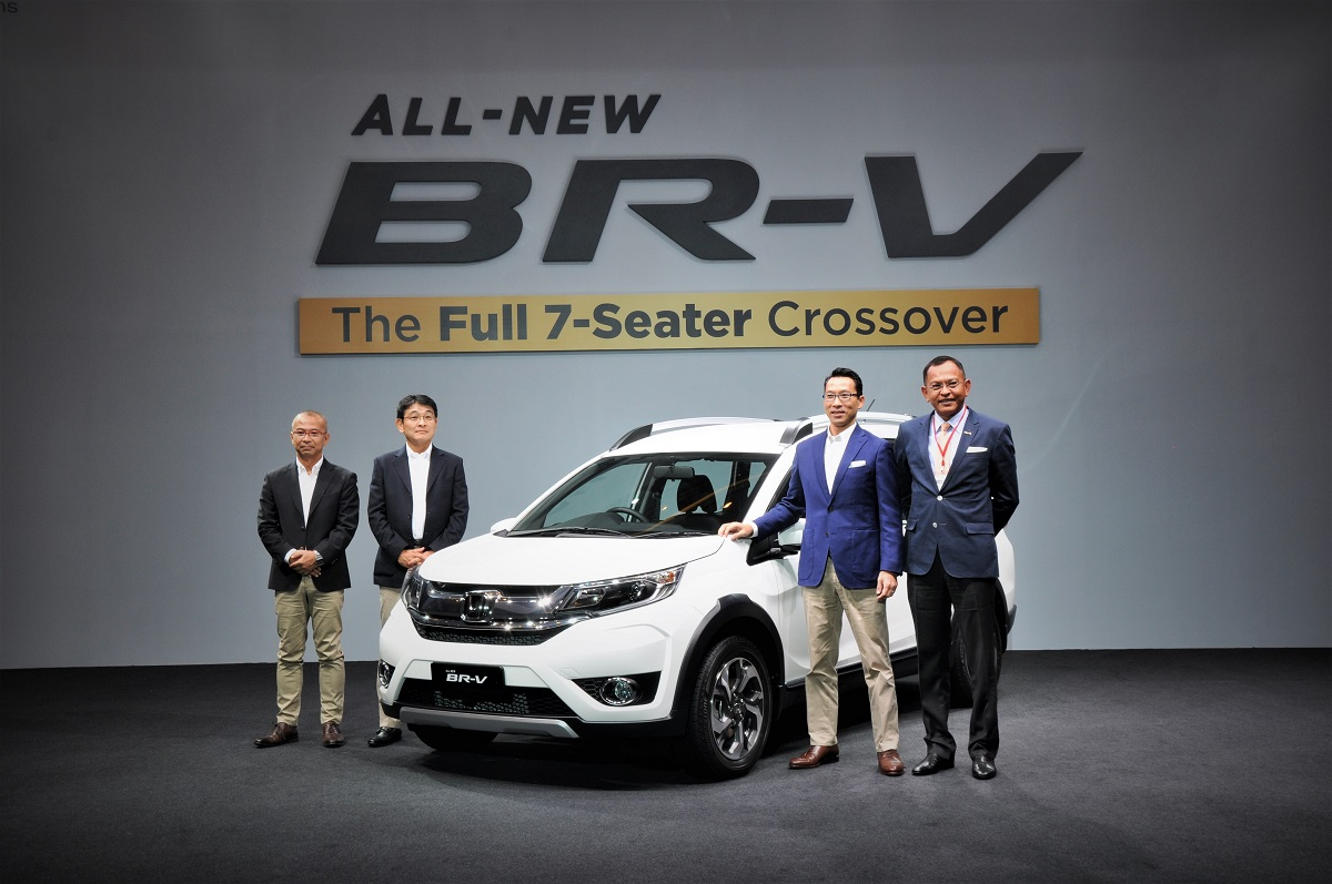 Honda Br V Launched In Malaysia Autoworld Com My